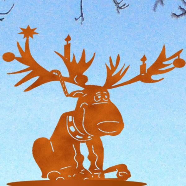 High Rudolf auf Platte