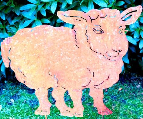 Gartendekoration Schaf Anneliese