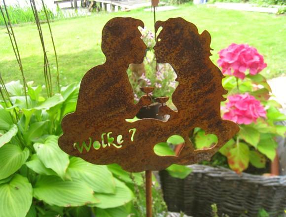 Gartenstecker Wolke 7 klein