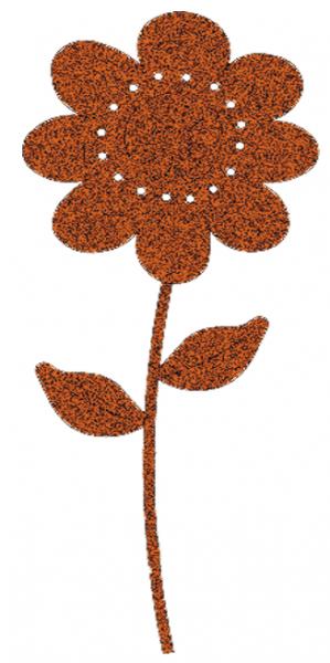 Blumentopfstecker Blume