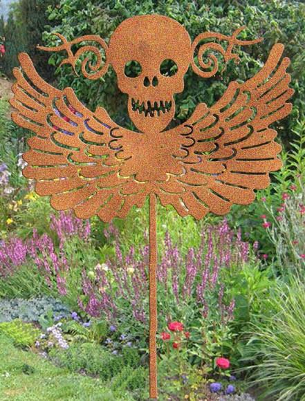Gartendekoration El Harvey mit Flügeln