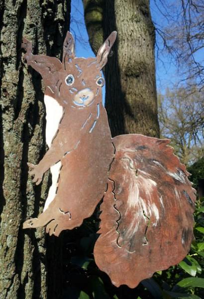 Eichhörnchen Pummeluf Baumschmuck