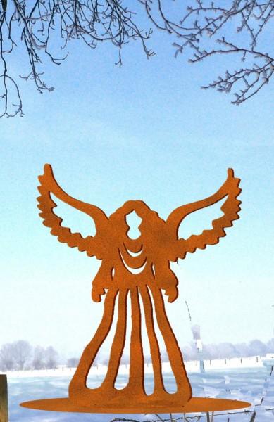 Engel auf Platte