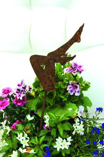 Blumenstecker Frauenbeine Belinda