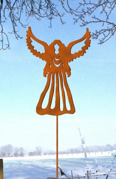 Gartenstecker Engel