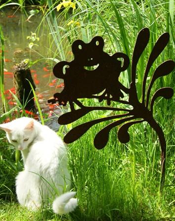Teichdekoration Gartentecker Freddy Quark