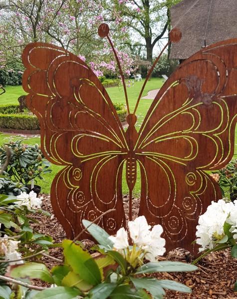 Sichtschutzelement / Schmetterling