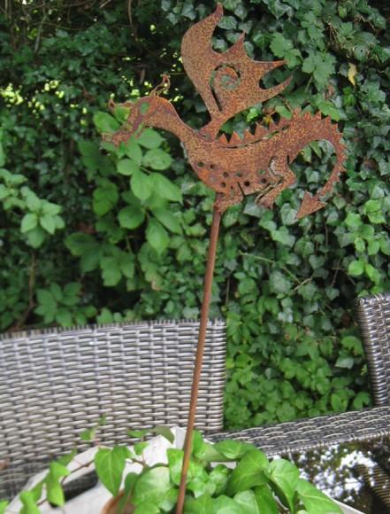 Blumentopfstecker Drachy