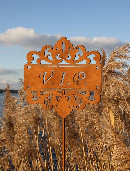 Rostdeko Gartenstecker VIP