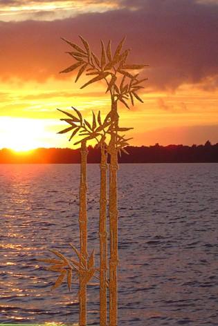 Zierelement Bambus