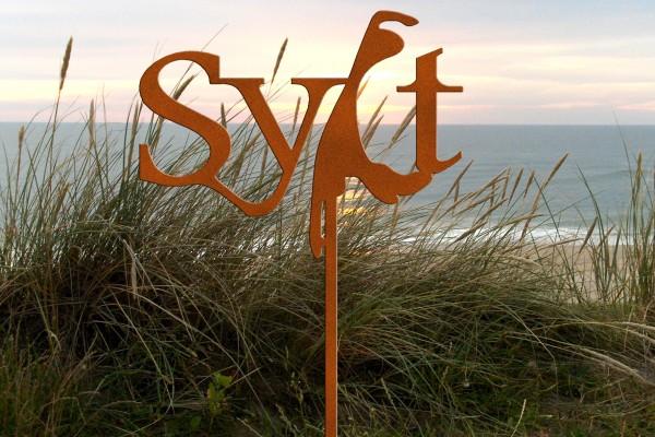 Gartenstecker Sylt