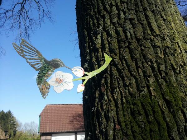 Kolibri Tülü bunte Tiere