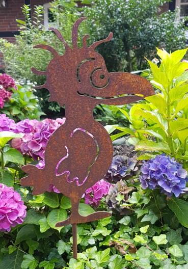 Gartenstecker Vogel Fridolin