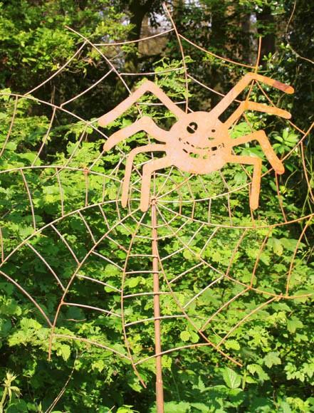 Gartendekoration Spinne Lulu