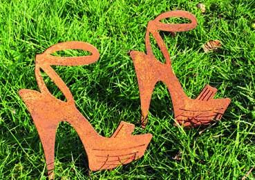 Gartendeko High Heel