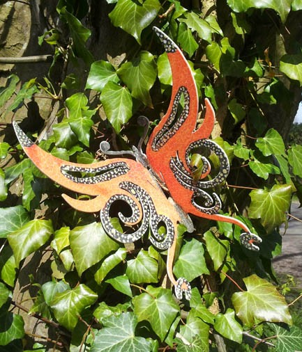Schmetterling Sunny bunte Tiere