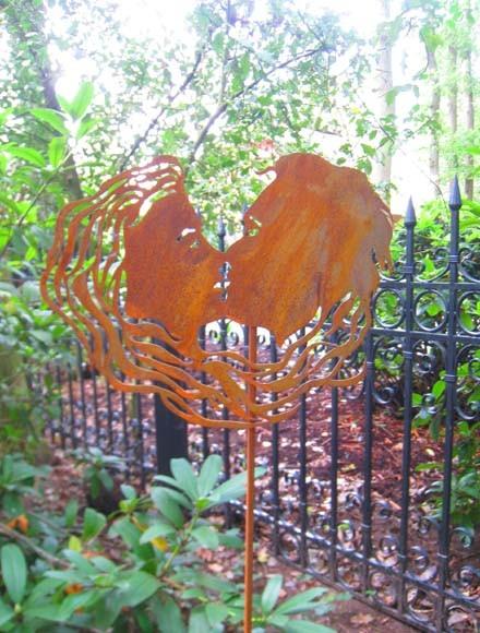 Gartenstecker Verliebte