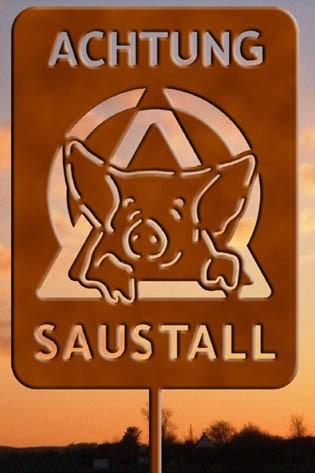 Achtung Saustall