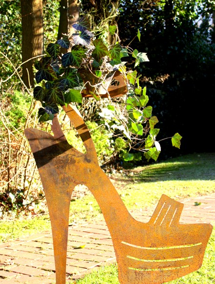 Gartendekoration High Heel